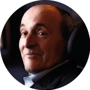 Philippe Pozzo di Borgo, entrepreneur et écrivain et parrain de UP for Humanness