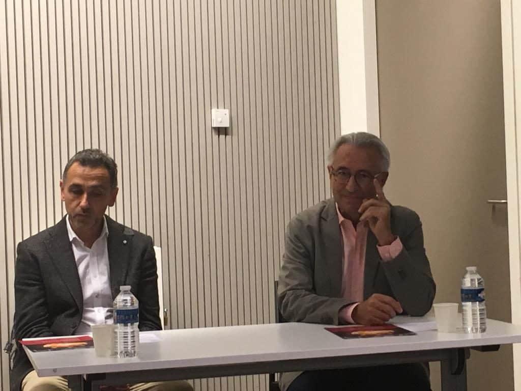 Jean- Marc Potdevin (Entourage) à gauche, et Marc Renart (Devenirs Matters), deux exemples d'innovation réussis