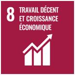 Objectif de Développement Durable de l'ONU numéro 8