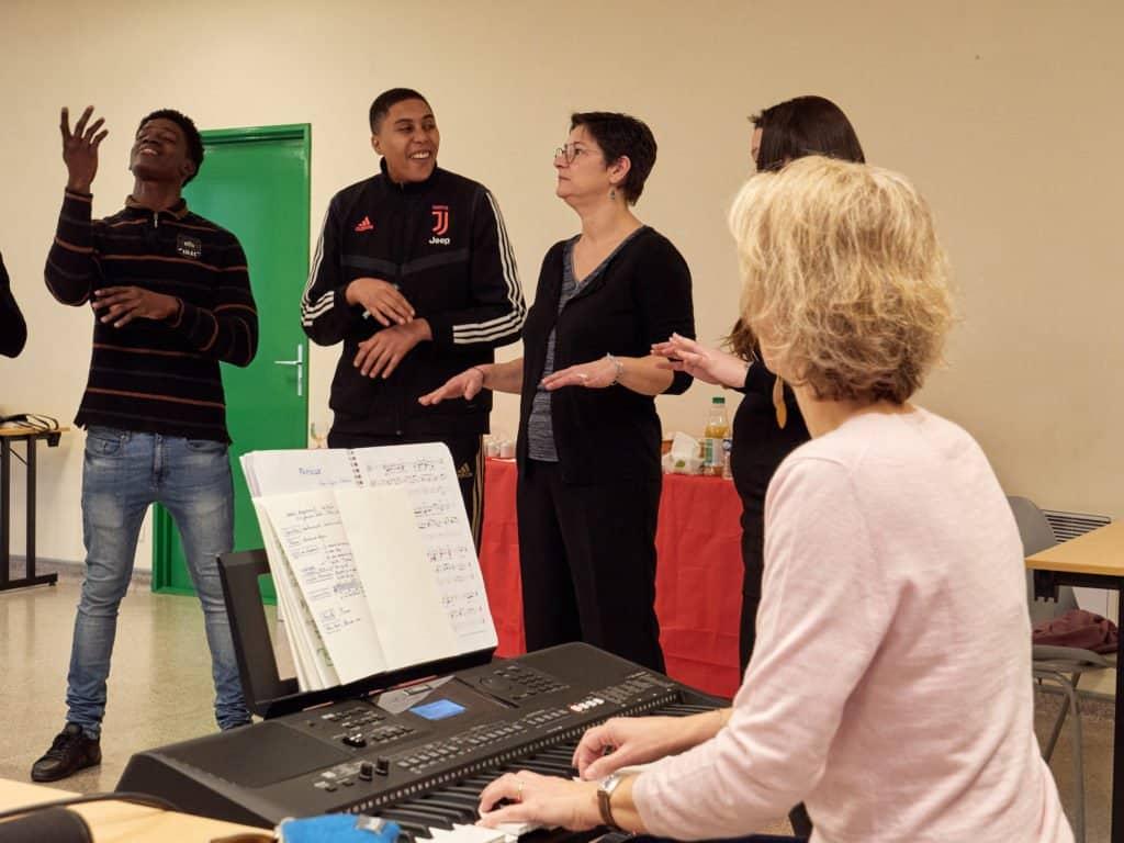 module artistique : chant