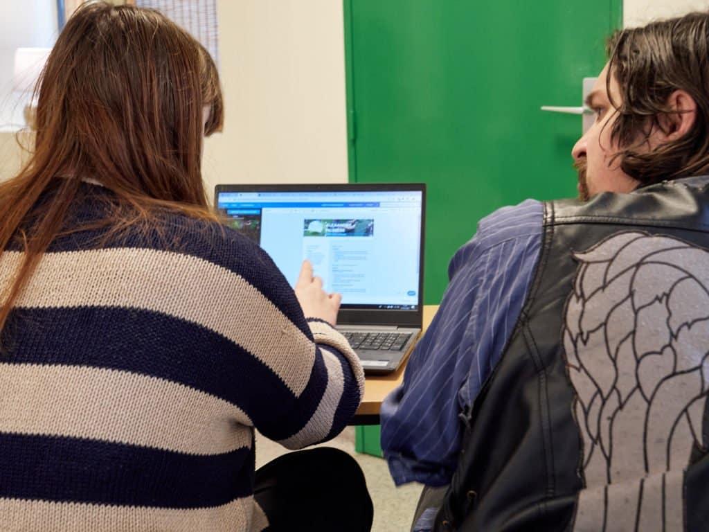 module de remise en forme du CV en partenariat avec Human'ISCOM