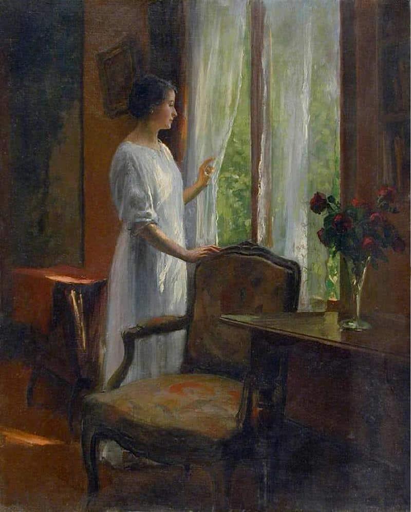 Attente à la fenêtre - patience
