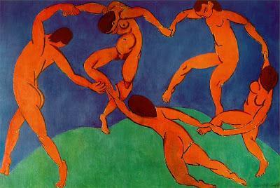 Henri Matisse (1869 - 1954) - La Danse, 1910 pour l'équilibre