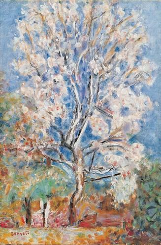 Pierre Bonnard - L'amandier en fleurs en signe de renaissance