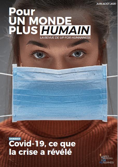 une de la revue pour un monde plus humain