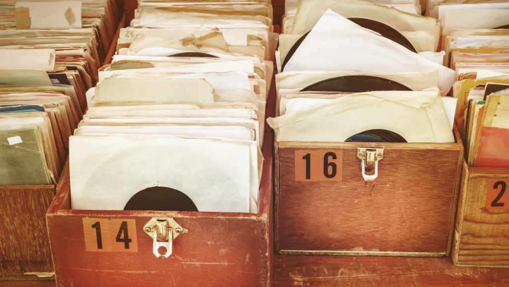 disques vinyl pour partir en voyage grâce à la musique