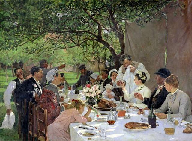 Albert Auguste Fourié, le repas de noces à Yport, pour retrouver le goût des choses