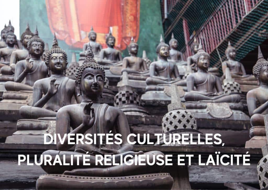 Temple bouddhiste pour illustré le thème Diversités culturelles pluralité religieuse et laïcité