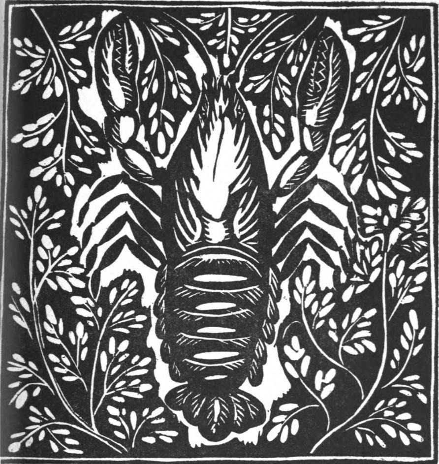 L'écrevisse du bestiaire de Guillaume Appolinaire