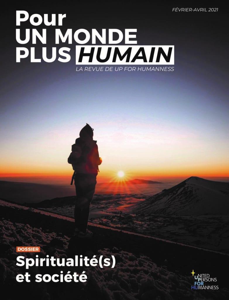 Couverture du 3e numéro de la revue Pour un monde plus humain