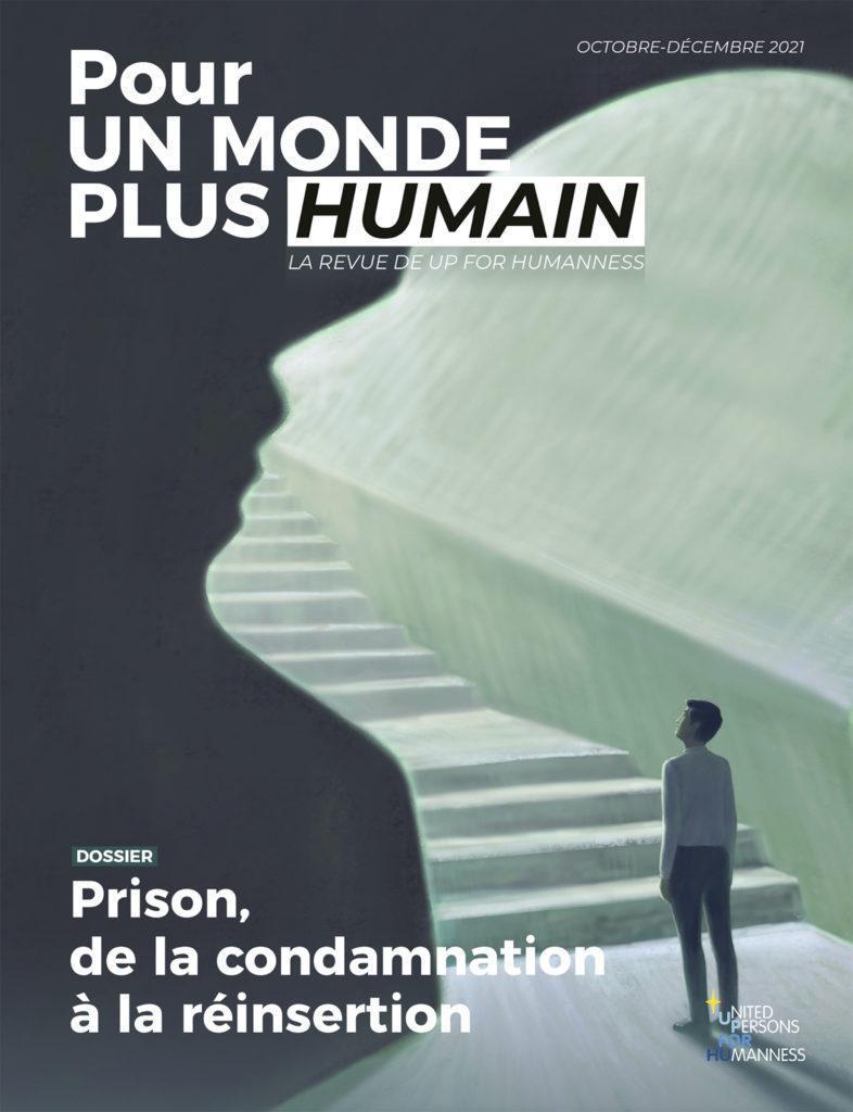 Couverture du 5e numéro de la revue Pour un monde plus humain